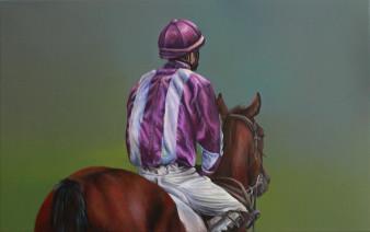 Jockey 2 | Öl auf Leinwand | 50 x 70