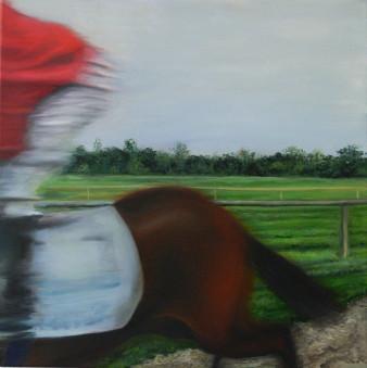 Jockey | Öl auf Leinwand | 50 x 50