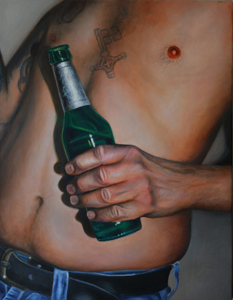 Prost | Öl auf Leinwand | 80 x 60
