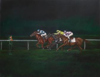 racer1|Öl auf Leinwand|100x80