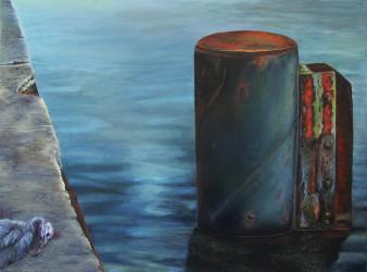 Wilhelmshaven|Öl auf Leinwand|60x80