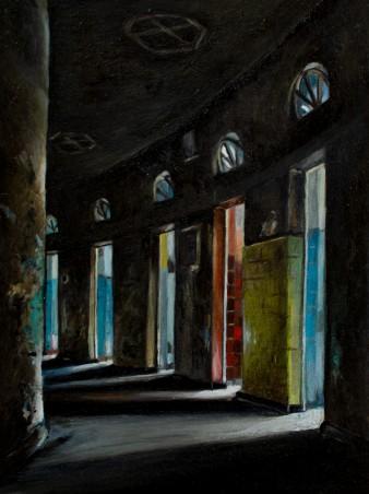 wittekind 2 | 18x24 | Öl auf Holz